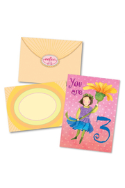 Eeboo Sweet Fairy 3 Birthday Card - Product Mini Image
