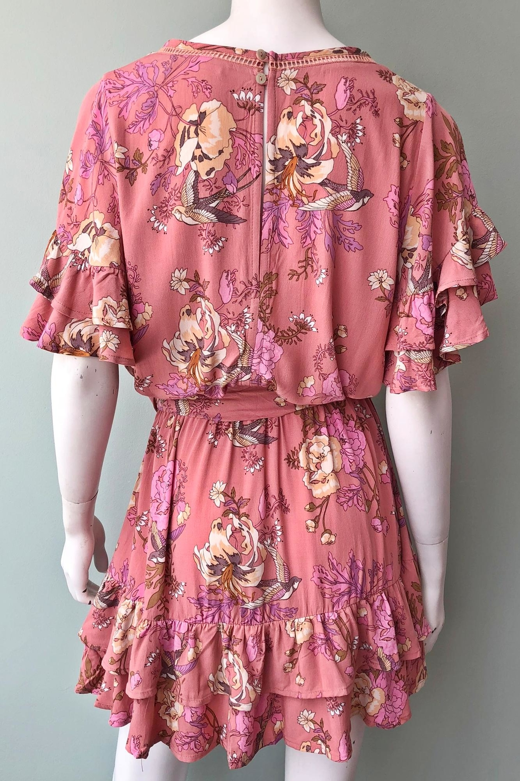 Spell & the Gypsy Collective Sweet Jane Dress - Back Cropped Image