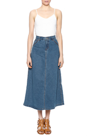 Sweet Jeans Casual Denim Maxi Skrt - Front full body
