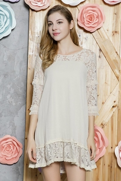 sassy Bling Sweet Lace Tunic - Alternate List Image