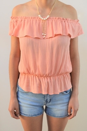 LC DESIGNS COLLECTION Sweet Melon Top - Product Mini Image