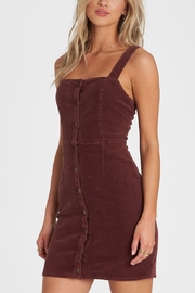Billabong Sweet On You Cord Dress - Product Mini Image