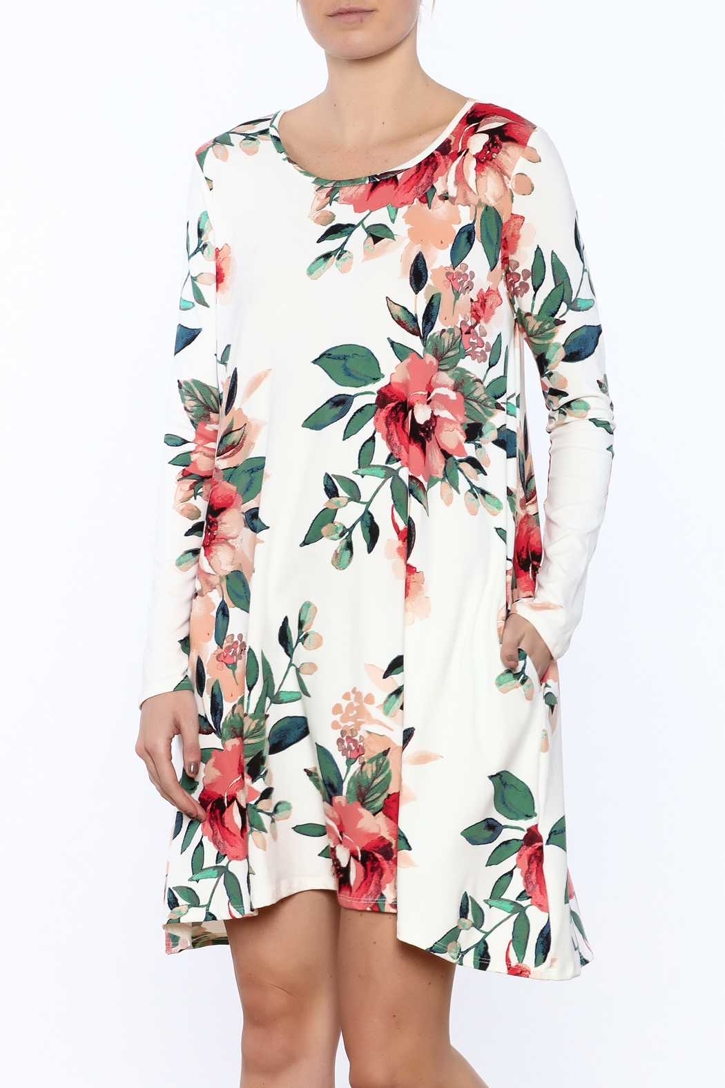 Sweet Pea Floral Pocket Dress From Idaho By Garment