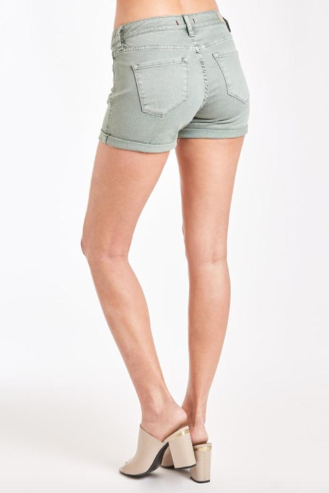 Dear John Sweet Pea Short - Back Cropped Image