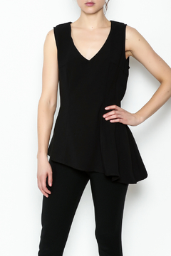 Sweet Rain Black V-Cut Tank - Product List Image