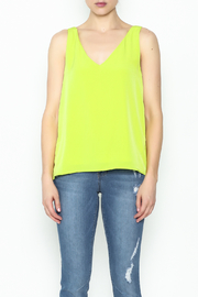 Sweet Rain Yellow Tank Top - Product Mini Image