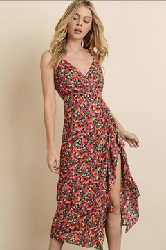 dress forum Sweet-Rose Ruched Dress - Product List Image