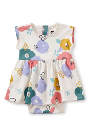 Tea Collection  Sweet Sightings Baby Dress - Floral - Product Mini Image