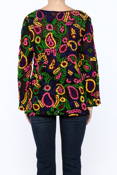 Shoptiques Product: Embroidery Gone Mad Top