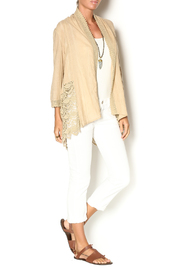 Sweet Sinammon Summer Crochet Cardigan - Front full body