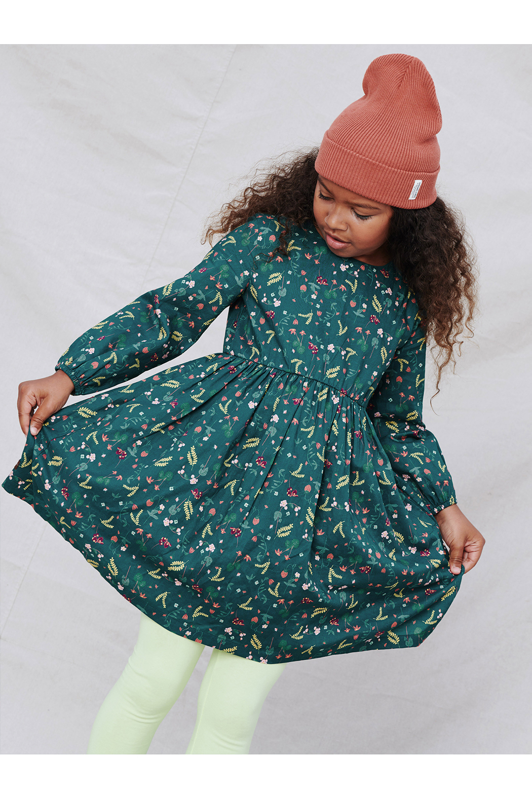 Tea Collection Sweet Skirted Dress - Back Cropped Image