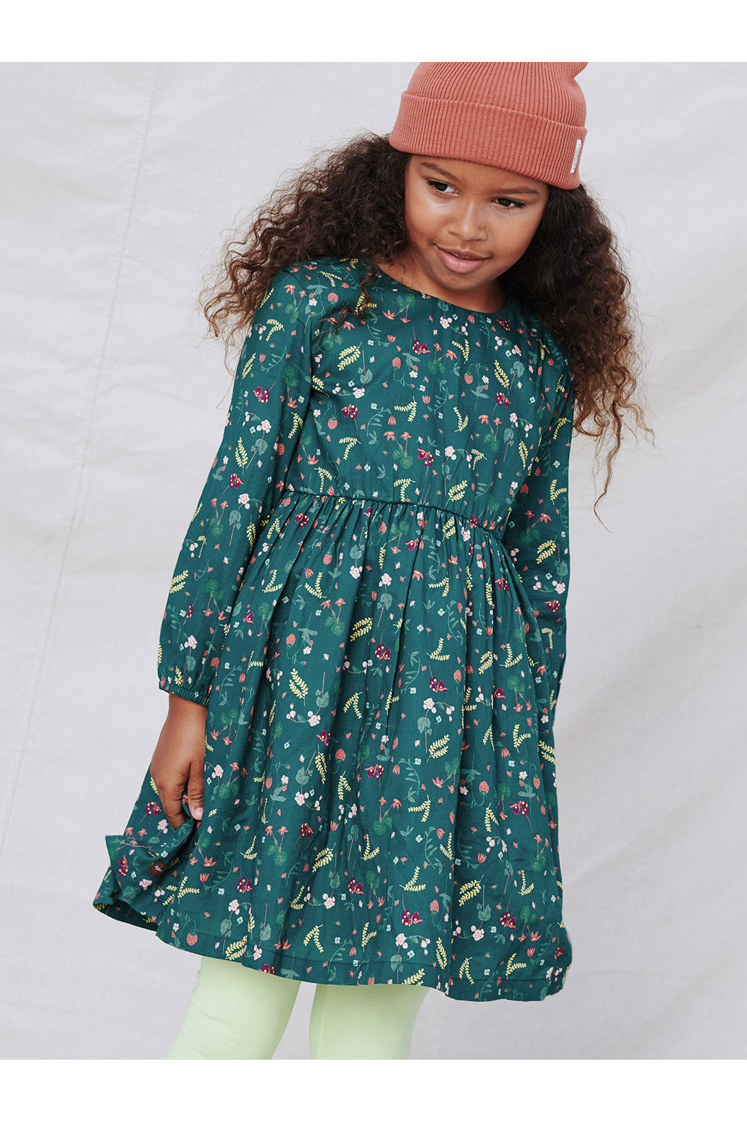 Tea Collection Sweet Skirted Dress - Front Full Image