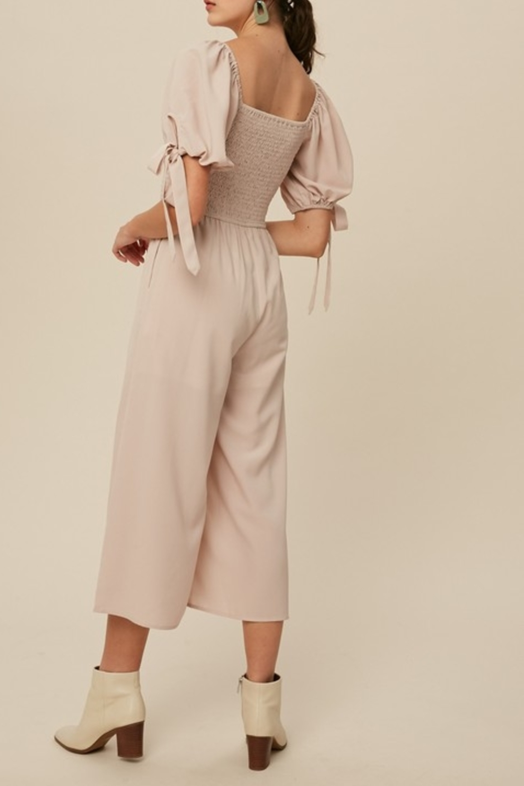 Listicle Sweet Summertime jumpsuit - Front Full Image