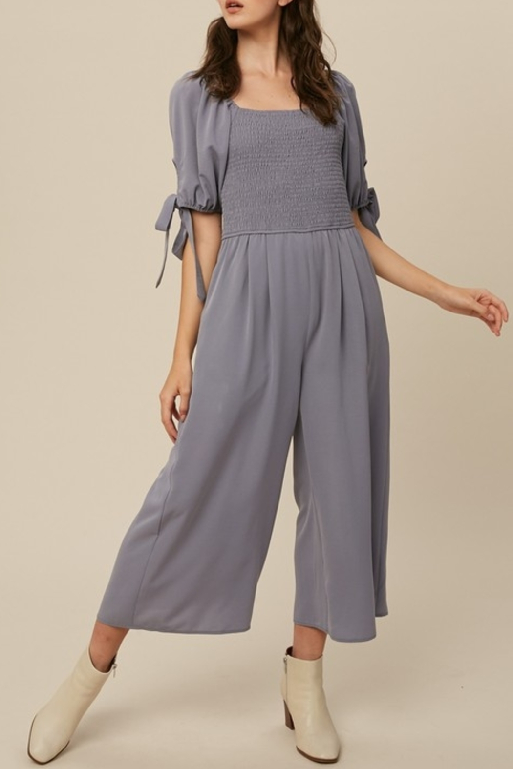 Listicle Sweet Summertime jumpsuit - Front Cropped Image