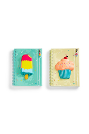 Cupcakes and Cartwheels Sweet Treats Squishable Notebook With Pouch - Front cropped