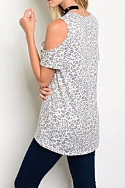 Sweet Claire Cat Tee - Front full body