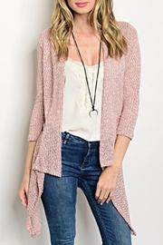 Sweet Claire Crochet Cardigan - Product Mini Image