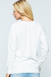 Sweet Claire Diet Graphic Sweatshirt - Back cropped