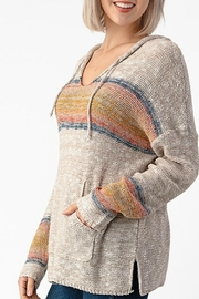 Sweet Claire Seaside Beach Hoodie - Front full body