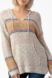 Sweet Claire Seaside Beach Hoodie - Front cropped