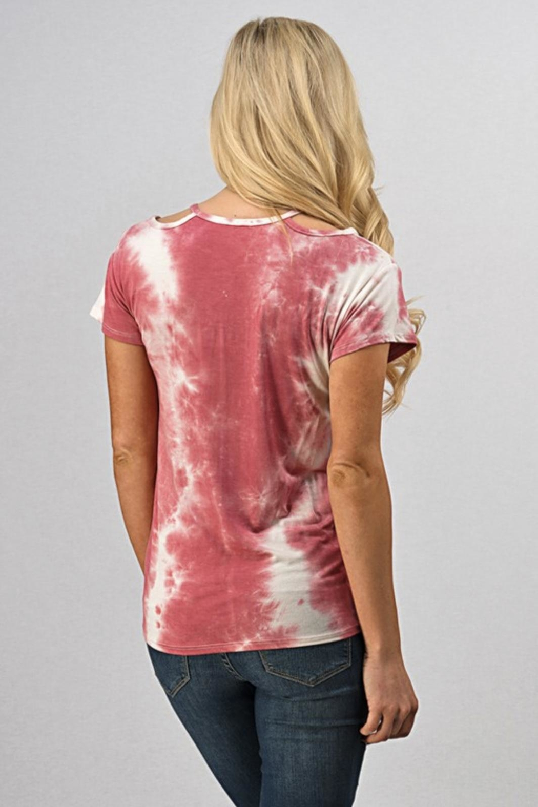 Sweet Claire Tie-Dye T-Shirt - Front Full Image
