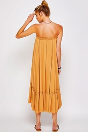 Sweet Generis Ruched Cinched And Pleated Convertible Skirt Dress - Back cropped