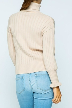 Sweet Generis Ruffle-Sleeve Turtleneck - Alternate List Image