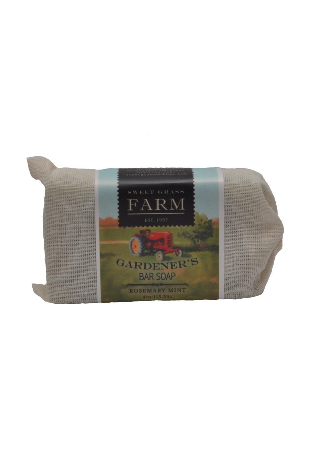 Sweet Grass Farm Gardener's Bar Soap - Front Cropped Image