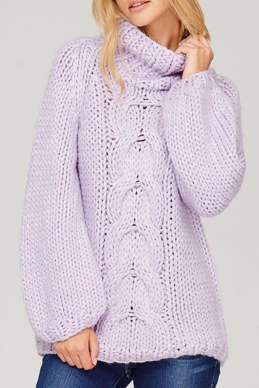 Sweet Journey Chunky Knit Sweater - Main Image