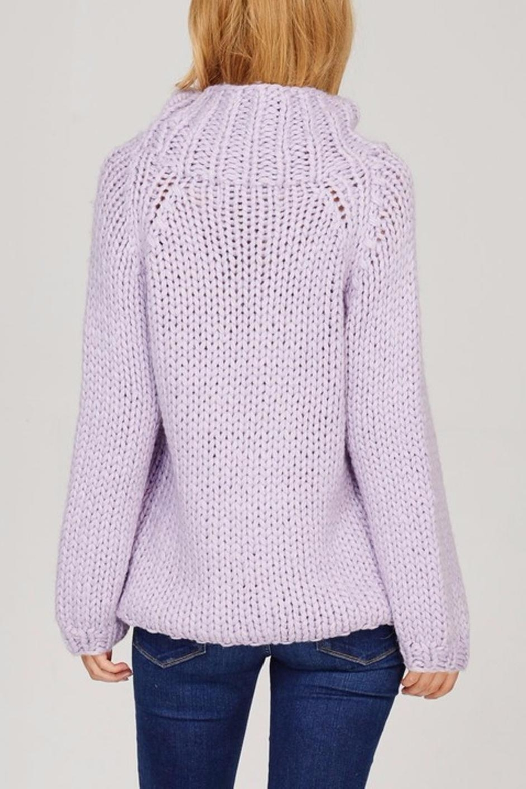 Sweet Journey Chunky Knit Sweater - Front Full Image