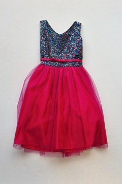 Sweet Kids Sequin Dress - Product List Image
