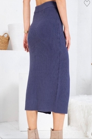 Sweet Lovely Button Front Midi - Front full body