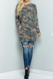 Sweet Lovely Camouflage Tunic Top - Other