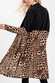 Sweet Lovely Leopard Cardigan - Side cropped