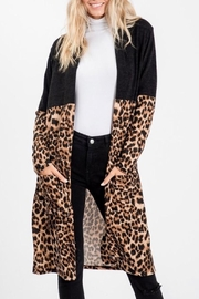 Sweet Lovely Leopard Cardigan - Front cropped