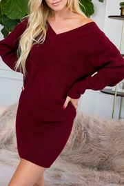 Sweet Lovely Tunic Sweater Dress - Product Mini Image