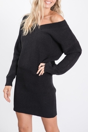 Sweet Lovely Tunic Sweater Dress - Side cropped