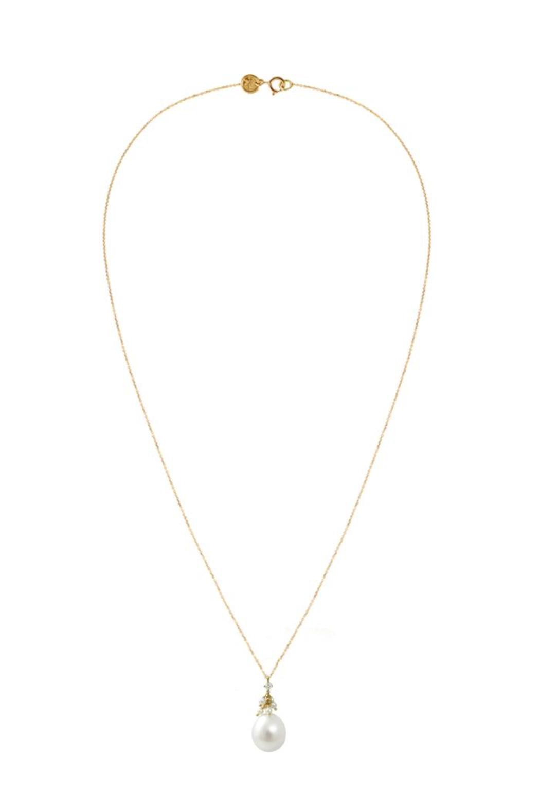 Sweet Pea Fine Jewellery Gold Pearl Necklace - Main Image