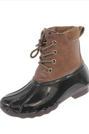 Sweet Rain Kids Waterproof Duckboots - Front cropped
