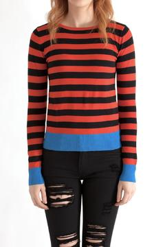Sweet Rain Striped Sweater - Product List Image