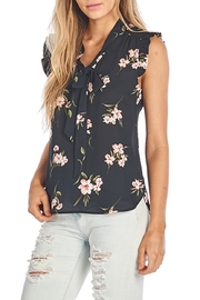 Sweet Rain Tie Front Top - Front cropped