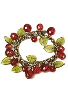 Shoptiques Product: Cherries Charm Bracelet