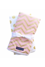 Sweet Seraphina Chevron Burp Cloths - Product Mini Image