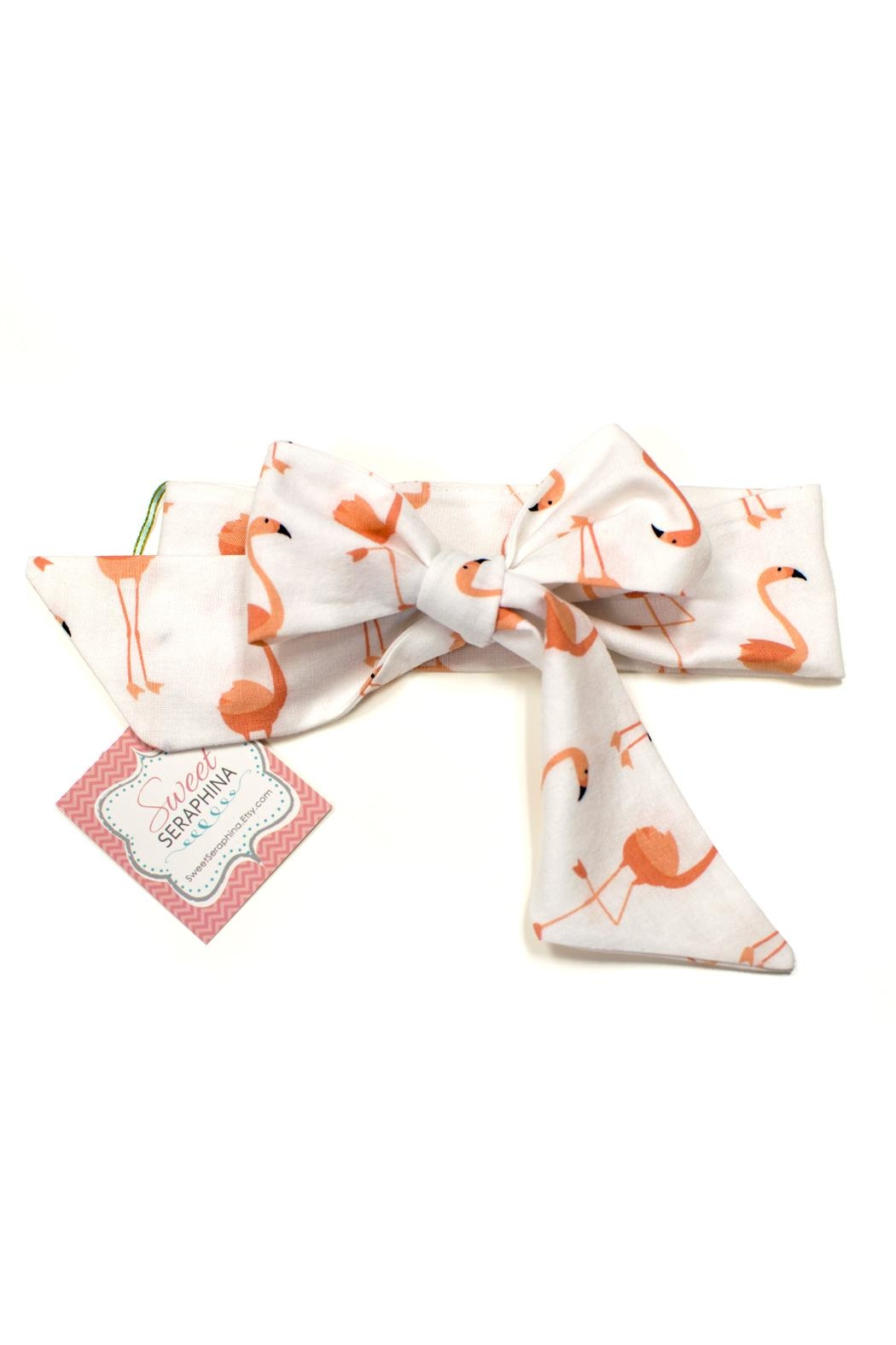 Sweet Seraphina Fabric Bow Headwrap - Main Image