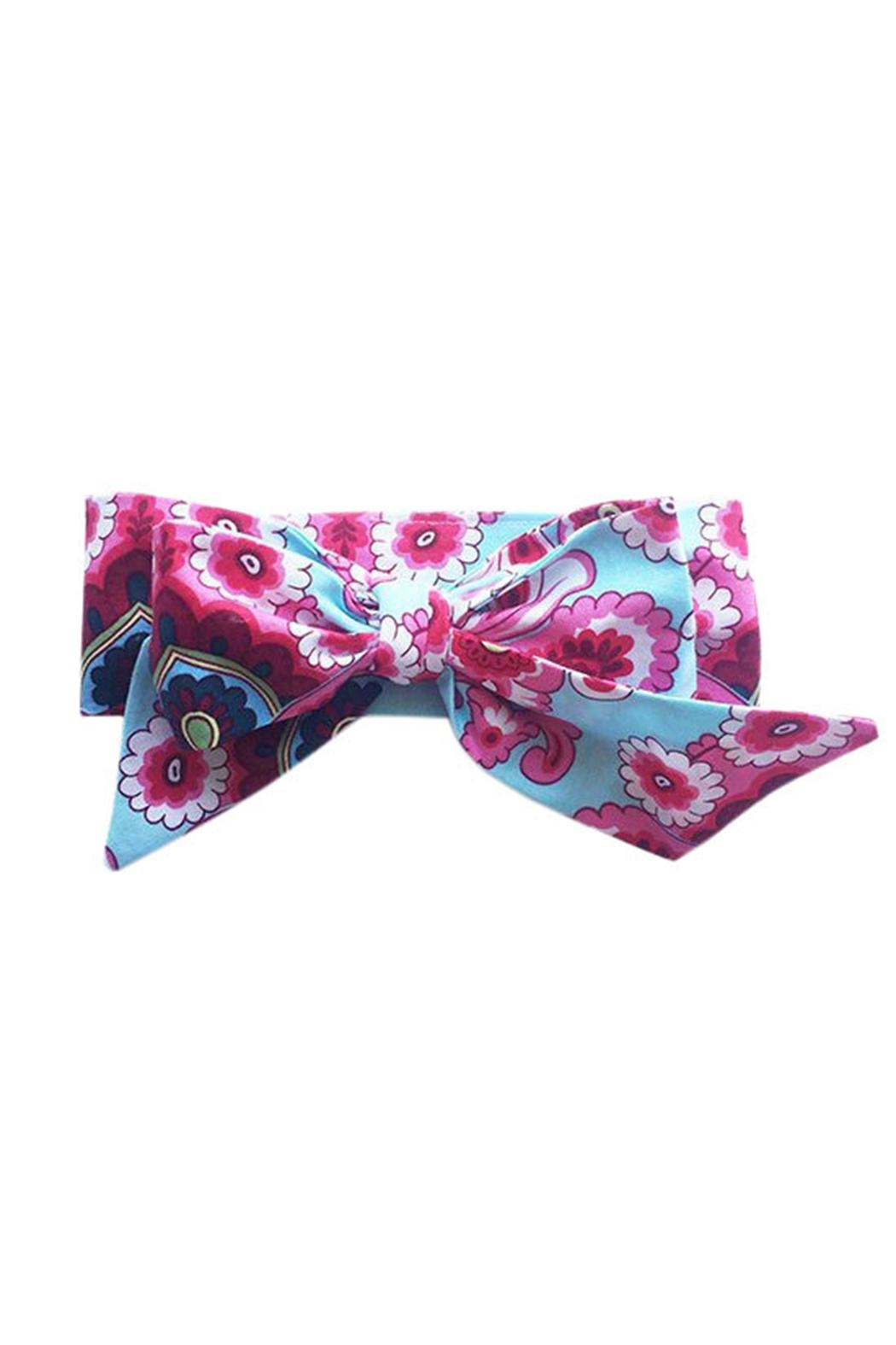 Sweet Seraphina French Wallpaper Headband - Front Cropped Image