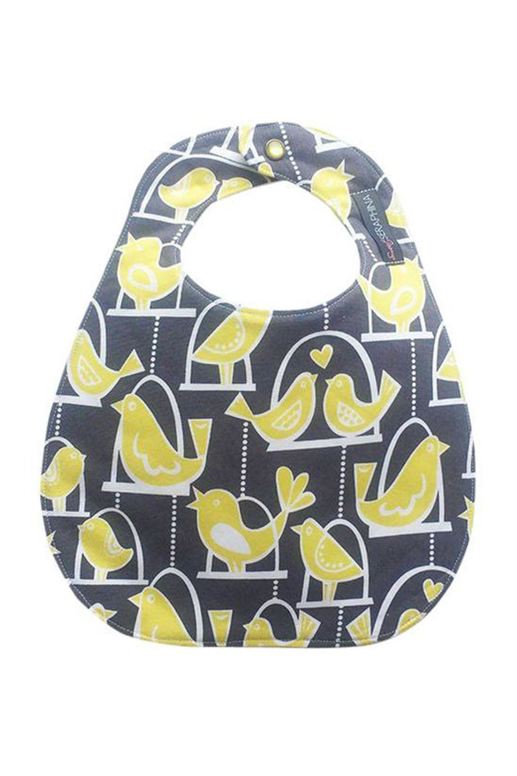 Sweet Seraphina Love Birds Bib - Front Cropped Image