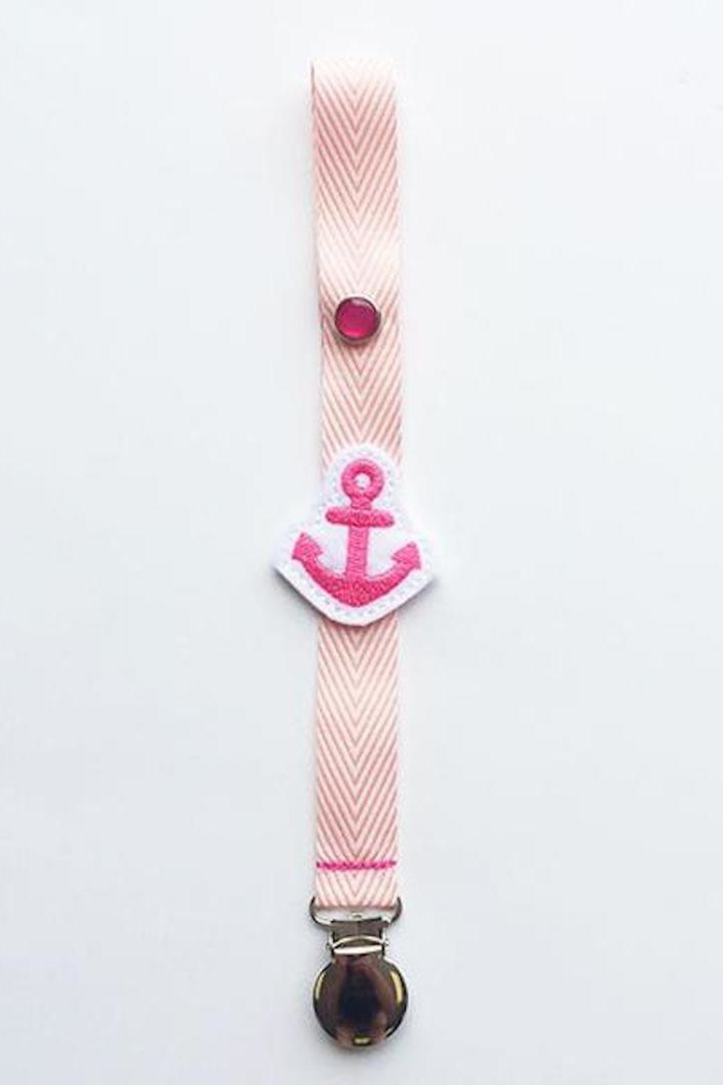 Sweet Seraphina Pink Nautical Love - Back Cropped Image
