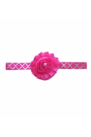 Sweet Seraphina Pink Rose Headband - Product Mini Image