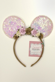 Sweet Seraphina Sequined Minnie Ears - Front cropped