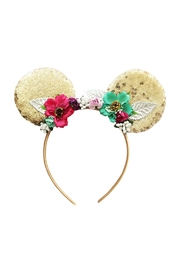 Sweet Seraphina Silver Minnie Ears - Front cropped